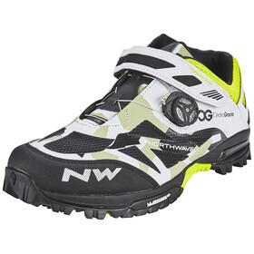 Northwave Enduro Mid schoenen Heren wit/zwart